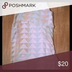 LuLaRoe TC leggings Super comfy, worn once and washed per LuLaRoe instructions. Made in Indonesia. They have white, cream, beige, and a mint color. LuLaRoe Other