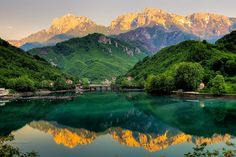 Jablanica lake, Bosnia and Herzegovina