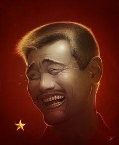 Yao Ming Face Internet Meme Art (China)