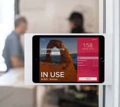Seamlessly transform iPad into a beautiful and simple business tool. It's more than joining products together, it's creating efficiencies in the workplace. Meeting Room Booking System, Ipad Wall Mount, Unified Communications, Ipad Stand, San Clemente, Digital Signage, Cloud Based, House Front, Real People