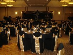 Black and Gold Wedding Decor . 24 Best Of Black and Gold Wedding Decor . Glamorous Black White and Gold Wedding with Sequin Bridesmaid Dresses Gold Wedding Theme, Wedding Reception Decorations, Wedding Themes, Our Wedding, Dream Wedding, Trendy Wedding, Wedding Black, Black And Gold Party Decorations, India Wedding