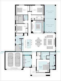 Broadbeach - Floorplans | McDonald Jones Homes