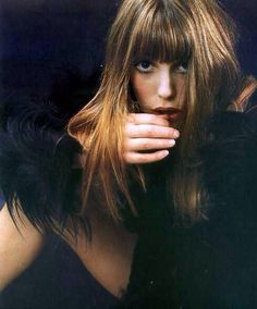 Jane Birkin #perfecthair #beauty