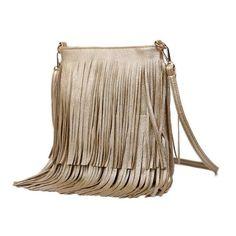 cf3ccd5e5d RanHuang Women Tassel Handbags 2017 PU Leather Designer Shoulder Bag Ladies  Fashion Crossbody Bags Black Bolsa Feminina A1620