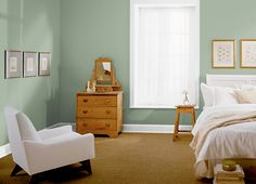 This is the project I created on Behr.com. I used these colors: ATHENIAN GREEN(440F-4),