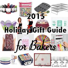 Holiday Gift Guide for Bakers 2015