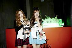Tiffany,taeyeon