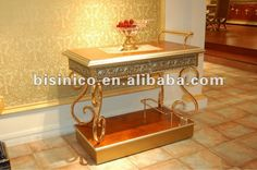 Luxury & classical dining room furniture set, soild wood, hand carved…