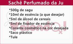 Como Fazer Sachês Perfumados