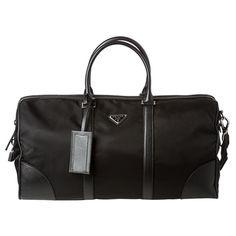 Prada Black Nylon Duffel Bag Miuccia Prada 96c34d2525025