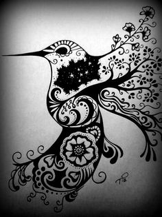 Hummingbird Drawing On Pinterest Watercolor