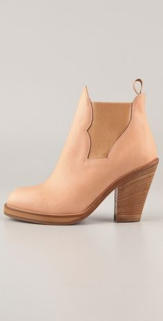 Blush boots