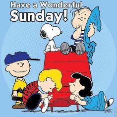 Sunday Quote - Peanut Gang & Snoopy