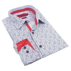 Elie Balleh Milano Italy Boys' /Rayon 2016 Style Slim-fit Shirt