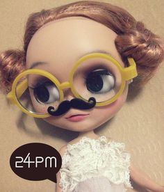 My Mustache   Mustard Glasses by 24PM on Etsy, ฿447.28
