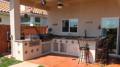 Idler's Custom Outdoor BBQ Island. Contact Donny at 805-238-6020 for more info.