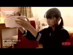 BABYMETAL - Headbanger MV (religion of Samara lol. Remember that girl crawling from TV?)