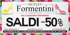 Continuano i SALDI a -50% da #FormentiniOutlet!