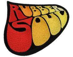 Beatles Rubber Soul Logo - Official Patch