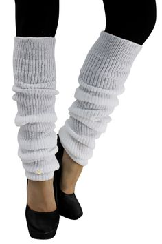Ultra soft warm thick knit makes these leg warmers a great find. Wear over your boots or with ballet flats. These simply add style to the simplest of outfits. Leg warmer measures 5 inches wide, un-str