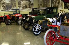 Model T Ford Museum in the Historic Depot District, Richmond, IN.  Cool place to visit!