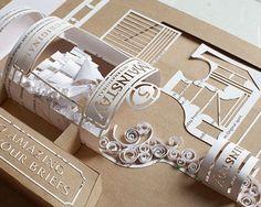 Propuestas de diseño en esculturas de papel