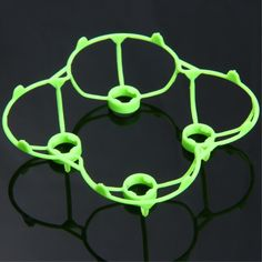 Spare WSX - 005 Protection Frames for Cheerson CX - 10 / CX - 10A WLtoys V676 RC Quadcopter - GREEN