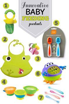 7 Innovative Baby Feeding Products