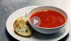 Sopa Detox de Tomate Para Derreter a Gordura da Barriga 【Atualizado】 Sopa Detox, Mood Lifters, Slow Cooker Soup, Tomato Soup, Stew, Veggies, Pudding, Eat, Breakfast