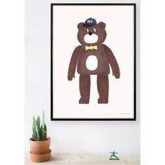 The Bear Poster By W