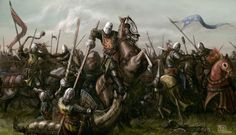 """A piece I did back in 2012 for Medieval Warfare Magazine. I'm not steeped in German Medieval history but I believe Worringen was one of many battles fought amongst Germans and men of the """"Low Count..."""