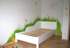 Zwergraum Blog » Blog Archive » Wandmalerei für das Kinderzimmer