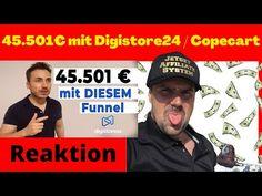 (97) 45.501€ mit DIESEM Digistore24 / Copecart Funnel [Michael Reagiertauf] Funnel erstellen / Vorlage - YouTube