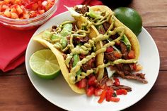 Simple slow-cooker paleo and gluten-free recipe for spicy shredded beef tacos. Minimal prep and your crock pot does all the work. Enjoy with our paleo tortillas, or as a spicy beef salad.