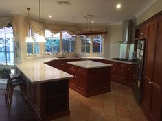 Innovative Splashbacks® installed directly over existing tiles for this #Sydney clients #kitchen upgrade.