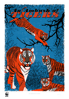 An Ambush of Tigers | WWF-UK Special Edition. From £109.00.