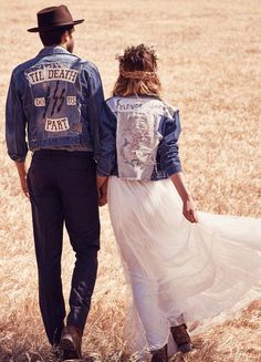 Free People Launched a Stunning Boho Inspired Bridal Collection: 'FP Ever After'. Check out the lookbook and gorgeous boho wedding dresses here!   StyleCaster.com