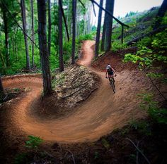 Berm Renyolds evil step-sister the Kleeway Trail shot by Greg Gailliano in Post Canyon, Or. #kitsbow