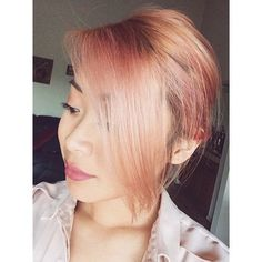 Or you can go for the gold. Rose gold, that is. | 35 Low-Key Ways To Add Color To Your Hair