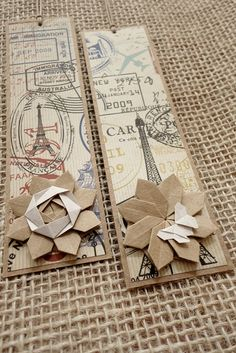 Bookmark - for Madame Sandra bibliothécaire