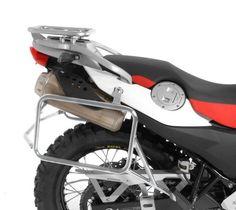 Stainless Steel Pannier Rack, BMW F650GS / G650GS / Sertao & Dakar - Touratech-USA