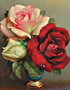 Irene Klestova  Bouquet of Roses  20th century
