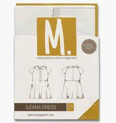 The Ileana Dress (children) paper pattern
