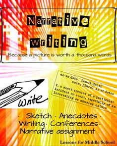 English Language Arts - Narrative Writing - Middle School