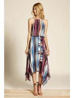 Dawn Midi Dress - Sanctuary Printed Summer Dress