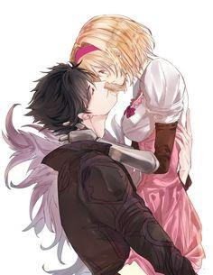 Granblue Fantasy || Belial & Djeeta Manga Love, Anime Love, K Project Manga, Granblue Fantasy Characters, Manga Anime, Anime Art, Cute Anime Coupes, Girls Anime, Manga Couple