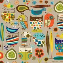 mid century modern fabric