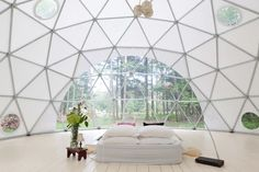 Air BNB - glamping dome