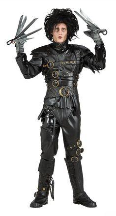 Edward Scissorhands Grand Deluxe Costume Halloween Costumes 56212