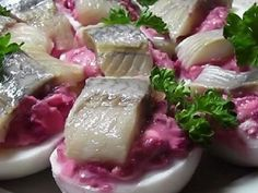 New holiday food dishes appetizers ideas New Recipes, Holiday Recipes, Cooking Recipes, Healthy Recipes, Lithuanian Recipes, Russian Recipes, Appetisers, Yummy Snacks, Food Photo